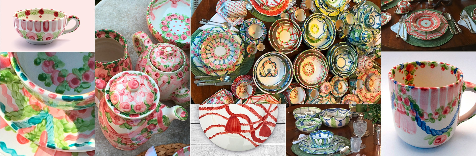 Keramik Geschirr Mode Handmade Manufaktur Hernuss