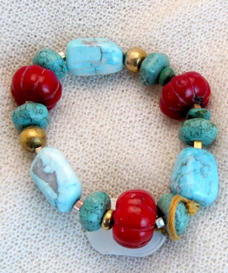 Armband mit Lorimar und Bambus Koralle