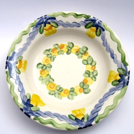"""Eberhelm"" - Suppenteller Unikat"