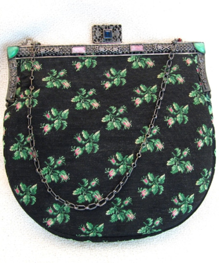 "Petit Point Handtasche ""Claudette"""