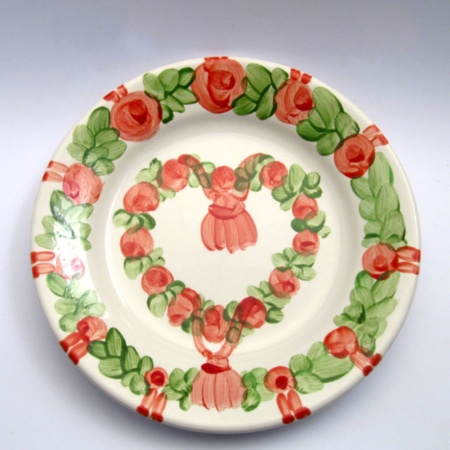 """Pancha"" - Dessertteller Unikat"